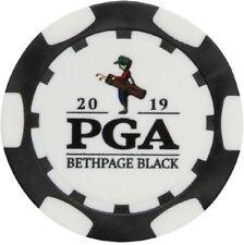 2019 PGA CHAMPIONSHIP (Bethpage Black) - BLACK - POKER CHIP Golf Ball Marker