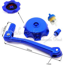 Pit Bike Gear Shifter Lever Fuel Tank Cap Cover 50 90 110 125 150 160 cc Dirt