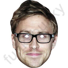 Russell Howard Comedy Celebrity Actor Card Mask - All Our Masks Are Pre-Cut!