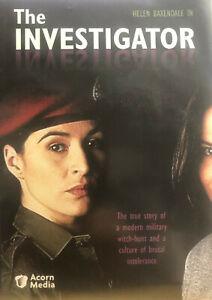 THE INVESTIGATOR HELEN BAXENDALE ORIGINAL 1997 CH4 LESBIAN MILITARY DRAMA V RARE