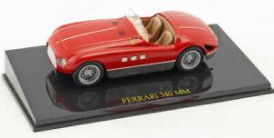 FERRARI 340 MM CABRIOLET with CASE 1:43 Scale F1 Car Model Formula One