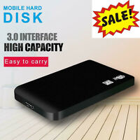 2.5 In USB3.0 SATA3.0 External Hard Drive Disk High Speed 6Gbps 2TB 1TB Portable