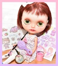 ��Custom Neo Blythe Doll by Atomic Blythe Whiffle Dress Ooak Takara Tomy��