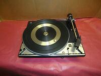 VINTAGE DUAL 1216  3 SPEED  AUTOMATIC  TURNTABLE  RECORD PLAYER