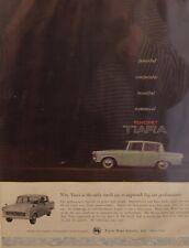 Original 1961 Vintage mounted motor advert Toyopet Tiara Motor Car Auto