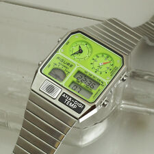 Figure Citizen Ana-Digi-Temp Watch JG2002 JG2000 Japan Limited Edition silver