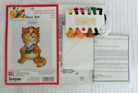 JANLYNN Cross Stitch SUZY'S ZOO Kit ENJOY Item 38-184 White Aida 5x7 Fun