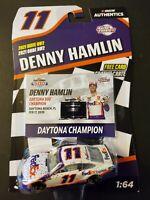 Denny Hamlin 2021 Wave 2 Race Win Lionel NASCAR 1/64 Scale Diecast Car