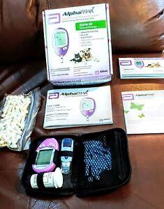 AlphaTRAK 2 Blood Glucose Meter Starter Kit (Includes Test Strips) Exp. 11/2020