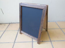 Medium A-Frame Chalkboard, Recycled Timber, Rustic Blackboard,
