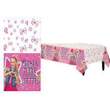 Jojo Siwa Paper Table Cover Girls Birthday Party Decoration Supplies Tablecover