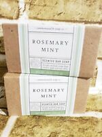COMMONWEALTH SOAPS & TOILETRIES CST Rosemary Mint bar soap 10 oz  x 2