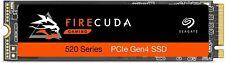 Seagate FireCuda 520 1TB M.2-2280 PCIe Gen4 x4 NVMe Internal SSD