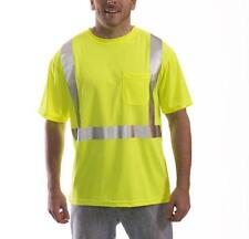 Radnor High Visibility Pocket T-Shirt w/Reflective Tape - Large - Ansi Class 2