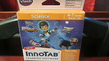 NEW V-Tech Innotab system games Learning app tablet Miles Tomorrowland Science