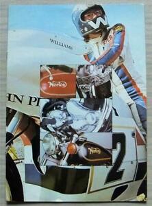 NORTON 850 MOTORCYCLES Sales Brochure 1974 ROADSTER Interstate JOHN PLAYER +
