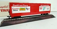 Campbell Soup Company 1982 Trainload Sale Boxcar Model on Stand