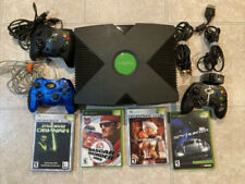 Original Xbox System Console Bundle W/ Games & Controller Clean and Tested