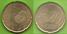 Espagne; 2017; 20 centimes d'Euro, 3ème série, pièce ayant circulé