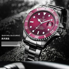 TEVISE Business Stainless Steel Men Luxury Watch Automatic Mechanical Luminous P