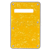 Guitar Back Plate Backplate For Fender Strat Guitar Parts 3 Ply Tremolo Cover