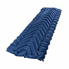 KLYMIT STATIC V LIGHTWEIGHT BACKPACKING INFLATABLE CAMP SLEEPING PAD - NAVY