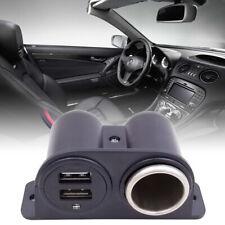 Auto Steckdose Dual USB Ladegerät Buchse Für KFZ Einbau Zigarettenanzünder
