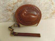 Vintage Dooney & Bourke Duck Change Wristlet-Coin Taupe Purse