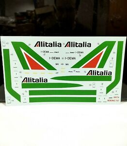 Alitalia 1/144 scale Boeing 747-100 Air Airline Model Transfers Decals Airfix