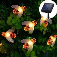 Lumière solaire / batterie abeille décor de jardin décor de lumière Imperméable