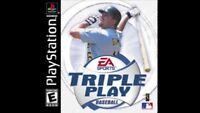 Triple Play Baseball (Sony PlayStation 1, 2001)