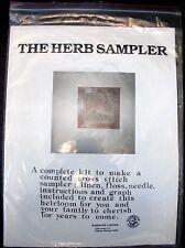The Herb Sampler Ramsgate Limited Vintage Cross Stitch Kit