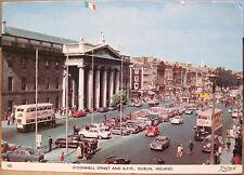 Irish Postcard GPO General Post Office DUBLIN Ireland O'Connell St Dollard 4x6