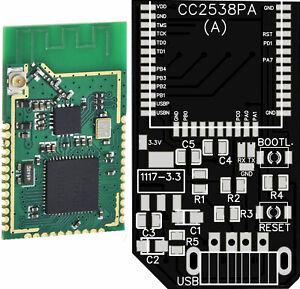 ZigBee 3.0 USB Stick KIT with CC2538 /CC2592 + PCB+ Components - New!