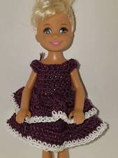 Handmade Chelse/Kelly mattel doll clothes - French Lilac
