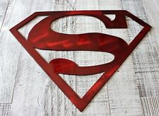 Superman Metal Wall Art