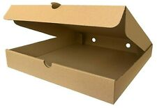 CHEAPEST Plain Pizza Boxes, Takeaway Pizza Box, Strong Postage Boxes 7 -14 Inch