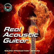 Acoustic Guitar Real -Huge Perfect 24bit Wave Multi-Layer Samples/Loops Library