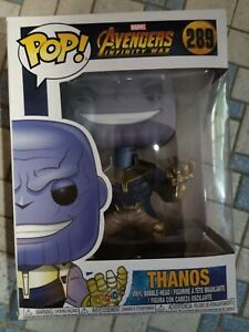 Funko Pop Vinyl Marvel Avengers Infinity War Thanos #289