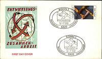 Ersttagsbrief 1981 Sonderstempel BONN 90 Pf. Marke Entwicklungs-Zusammenarbeit