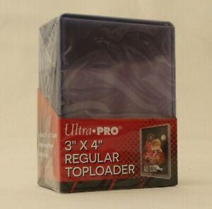 "25 Ultra Pro REGULAR TOPLOADER * 3"" x 4"" * Magic Pokemon Yu-Gi-Oh Force Attax"