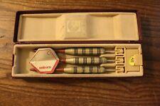 Three Old Silver Comet Darts by Unicorn England in Original Box