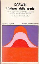 1981: CHARLES DARWIN - L'ORIGINE DELLA SPECIE - NEWTON COMPTON