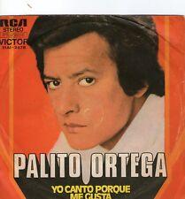 SINGLE !)/& palito ortega - yo canto porque ;/INCH
