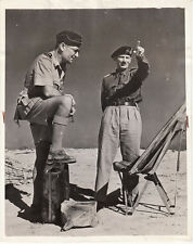British General Montgomery With Air Vice Marshal Coningham - 1942