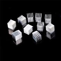 10pcs Aluminum Cooling 9x9x12MM Heat Sink RAM Radiator Heatsink Cooler  EO