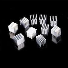 10pcs Aluminum Cooling 9x9x12MM Heat Sink RAM Radiator Heatsink Cooler  LS