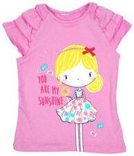 T-shirts et débardeurs rose pour fille de 5 à 6 ans