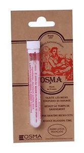 OSMA Alum Pencil 12g | Stem Bleeding Razor Nicks | Soothes Irritation | Styptic