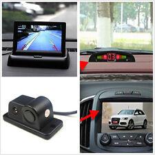 "Voiture Radar marche arrière arrière 120 ° large Night Vision caméra + Rear view 4.3"" LCD Monitor"